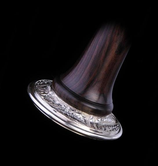 Sterling Silver Sole Hand Engraved